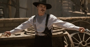 Doc Holliday portrayed by Val Kilmer in 'Tombstone'